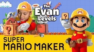 Let's Play SUPER MARIO MAKER - The Evan Levels!