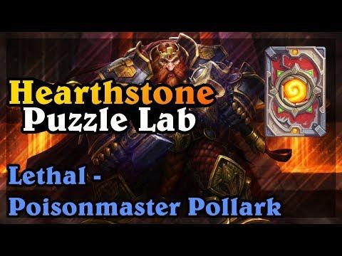 HEARTHSTONE - GUIDE LETHAL #1 - POISONMASTER POLLARK - GRBBGRLBGRL