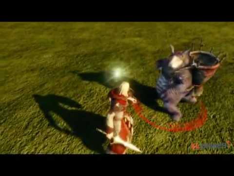 Боевая система Archeage. (2 видео)
