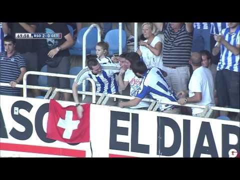 Gol de Seferovic (2-0) en el Real Sociedad - Getafe CF | HD | 18/08/2013