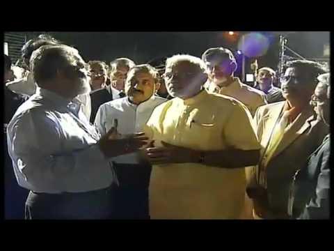 PM Shri Narendra Modi visits First Launch Pad GSLV Vehicle Assembly Building in Sriharikota
