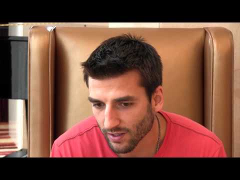 Patrice Bergeron - 2012 NHLPA Meetings