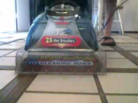 Bissell Proheat 2x Carpet Cleaner 8920 Youtube