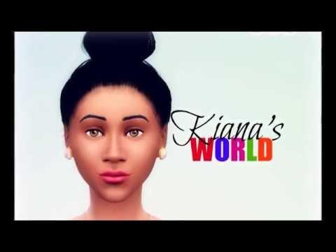 Kiana's World Episode 1: Creating Kiana l SIMS 4 SERIES