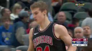 Full game highlights - Bulls at Pacers 12.6.17