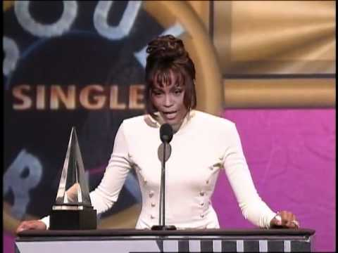 Whitney Houston Wins Favorite Soul/R&B Single For