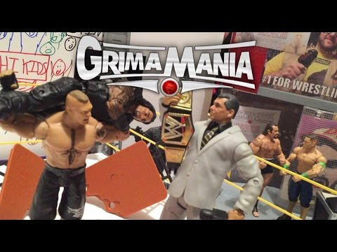 GTS WRESTLING: WrestleMania 31 PARODY PPV EVENT Figure Matches Animation! Mattel Elites