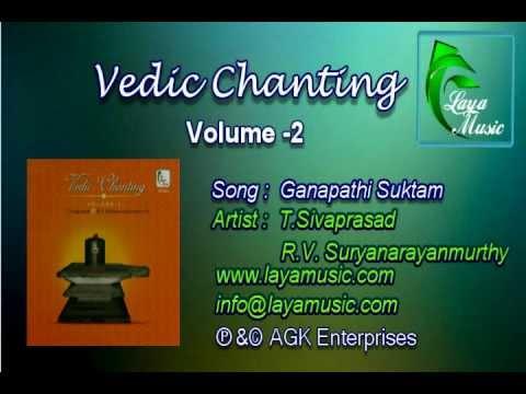 Ganapathi Suktam- Vedic Chanting - Volume 2