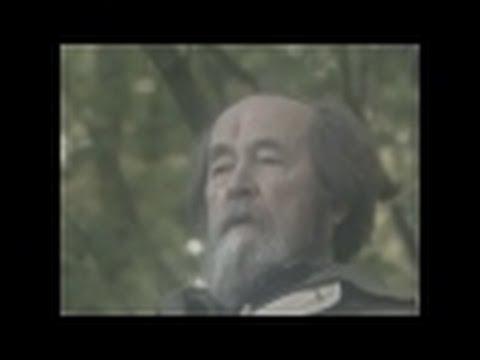 Александър Солженицин пред камерата на Александър Сокуров – част втора