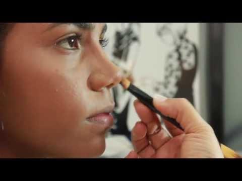 Cómo afinar la nariz con maquillaje