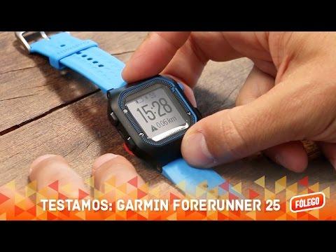 Testamos: Garmin Forerunner 25