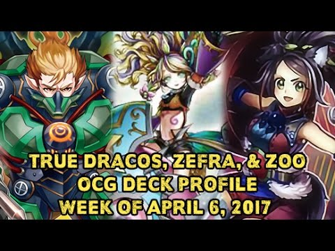 True Kings, Zefra, & Zoo Yugioh OCG Deck Profiles For April 6, 2017