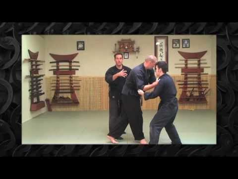 Ninjutsu Defense Against Multiple Attackers - Bujinkan Training