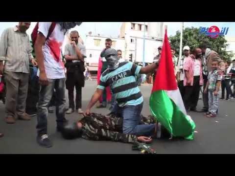 غارة إسرائلية على المقاومة الفلسطينية بقلب الدار البيضاء