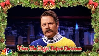 Nick Offerman's Version of 'Twas the Night Before Christmas