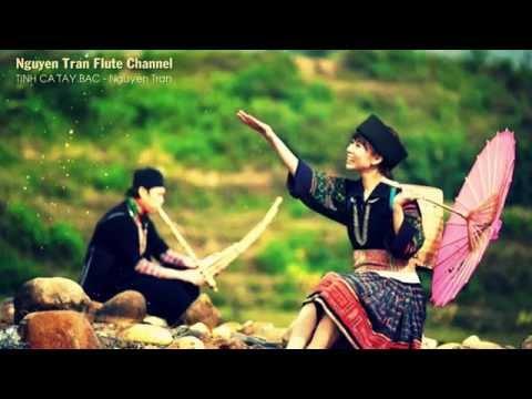TÌNH CA TÂY BẮC - Tone G - Sáo trúc Việt Nam   Độc tấu sáo