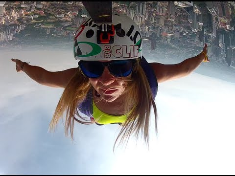 Malaysia BASE Jumping and Womens' World Record!