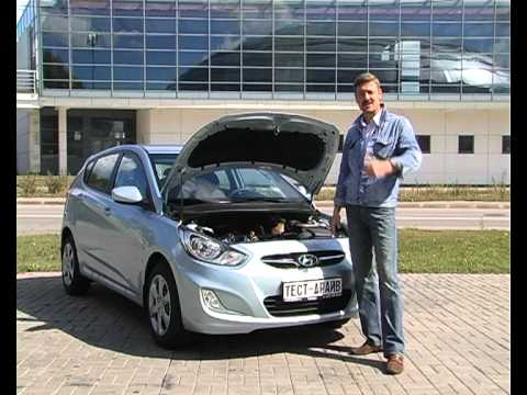 тест драйв Hyundai Solaris хэтчбек