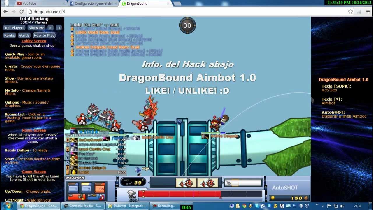 Aimbot Para Dragonbound
