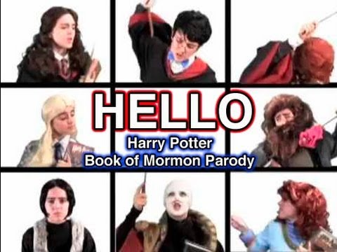 HELLO- Harry Potter Book of Mormon Parody | tessaROXX