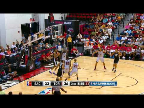 Sacramento Kings vs Toronto Raptors Summer League Recap