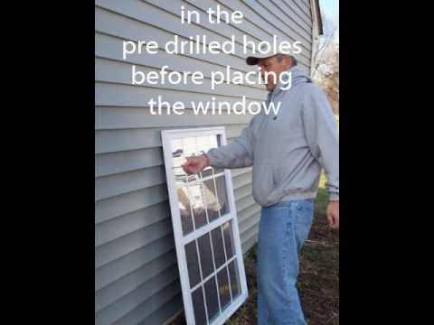 Fake Faux Window Install To Add Curb Appeal Youtube