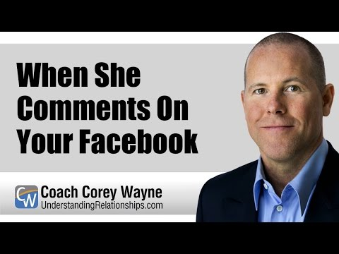 When She Comments On Your Facebook