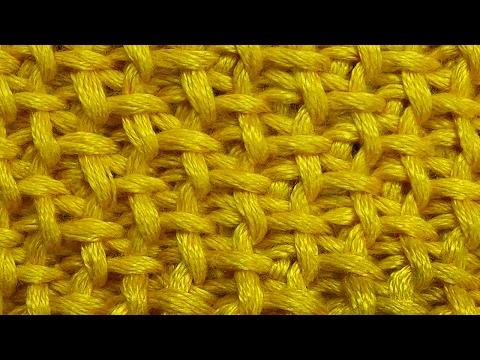Путанка со снятыми столбиками   Узор вязания 60
