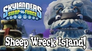 SHEEP WRECK ISLAND Gameplay Let's Play Skylanders SWAP FORCE