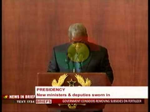 Presidency - 11 New Ministers & Deputies Sworn In - 21/7/2014