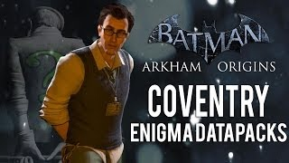 Batman Arkham Origins Coventry All Enigma Datapacks