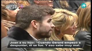 Gerard Piqué Emocionado Con Shakira En La Presentación