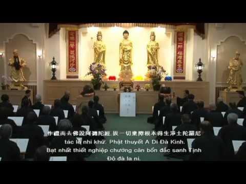 洛杉磯淨宗學會共修【佛説阿彌陀經】Tịnh Tông Học Hội Los Angeles Cộng Tu  Phật Thuyết A Di Đà Kinh
