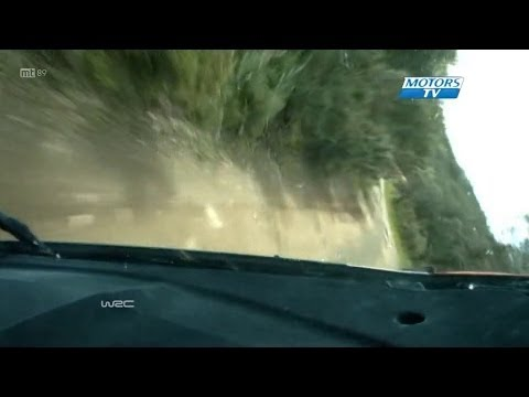 Robert Kubica Crash @ 2014 WRC Portugal