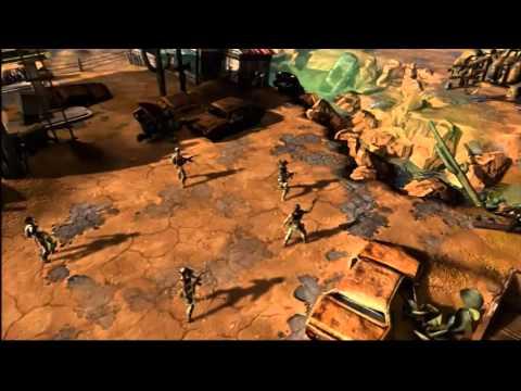 Wasteland 2 — первое видео