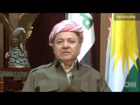 CNN EXCLUSIVE: Iraqi Kurdistan Leader Massoud Barzani Says 'The Time Is Here' For Self-determination
