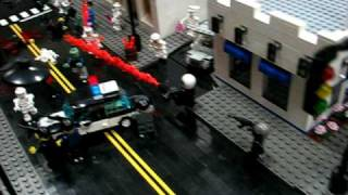 Zombies Attack The Lego City!