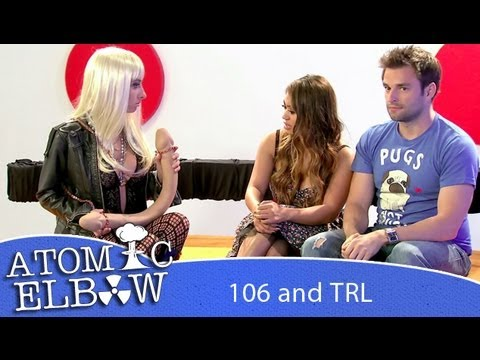 Lady Gaga Talks Penis Purse and Fish Perfume - 106 and TRL - Atomic Elbow - Episode 1