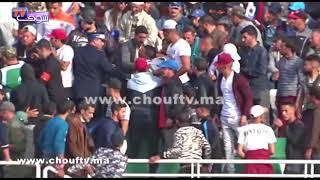 بالفيديو.. فوضى وشغب الجماهير بملعب الفوسفاط قبل انطلاق مباراة الوداد و أولمبيك خريبكة |