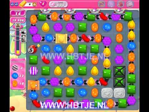 Candy Crush Saga level 633