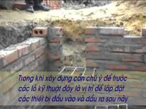 Kỹ thuật xây hầm Biogas - Phần 1