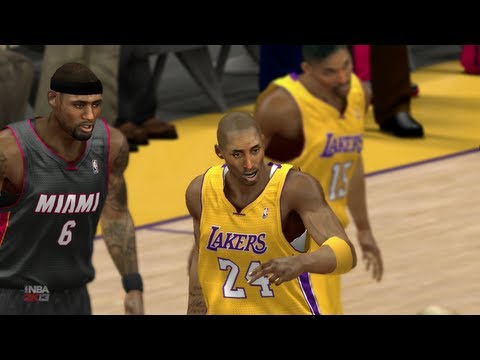 NBA 2K13 - Miami Heat vs Los Angeles Lakers