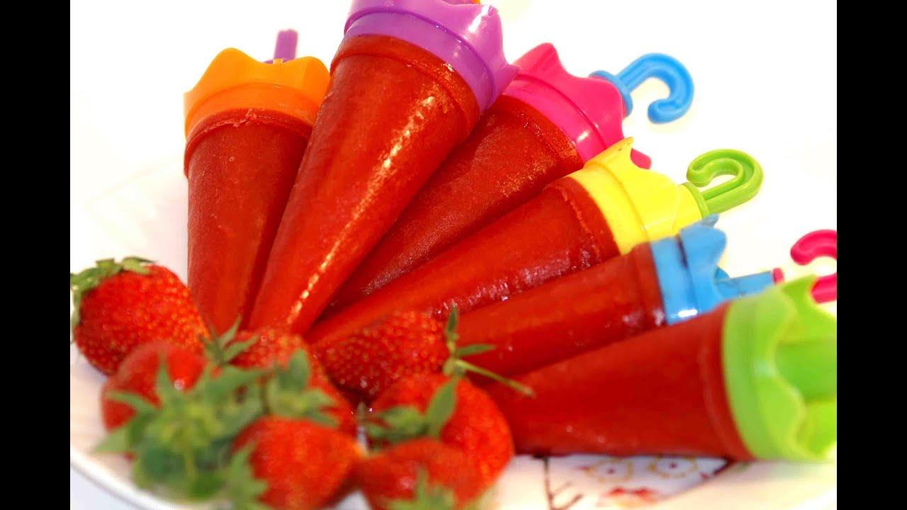 Как сделать фруктовое мороженое в домашних условиях рецепт с
