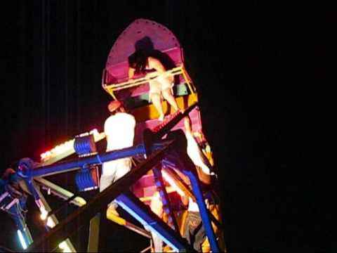 Accidente en montaña rusa (Barco) - Anahuac Chapalita - Kermesse