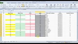 Excel: Formato Condicional Reglas De Celdas
