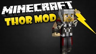 Minecraft: THOR MOD THE GOD OF THUNDER!