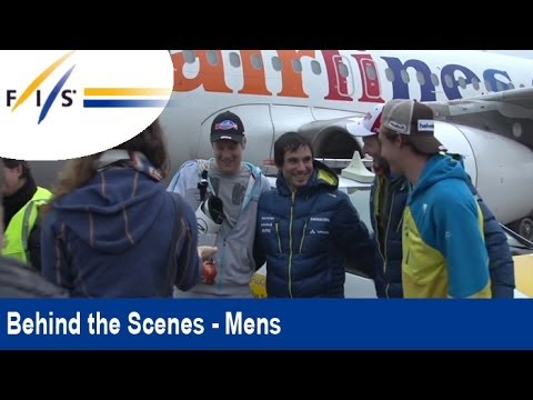 World Cup skiers travel north of the Arctic Circle - Behind the Scenes
