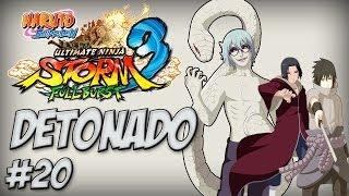 Naruto Ninja Storm 3, Detonado #20, DLC Full Burst, Boss