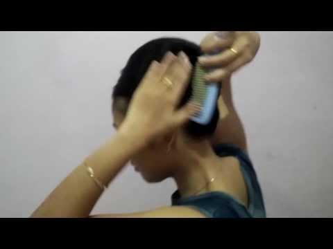 tutorial rambut pramugari