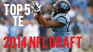 Top 5 Tight Ends In 2014 NFL Draft
